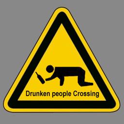 drunken people
